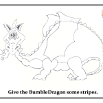 BumbleDragon - play doh mat